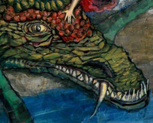 חמוטל פרידברג, בנות הדרקון, 2007 (פרט)