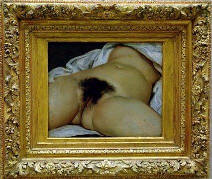 גוסטב קורבה, מקור העולם, 1866