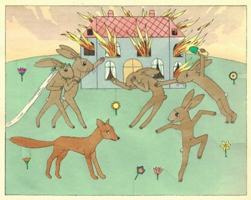 תום זיידמן פרויד, מתוך על הארנבת