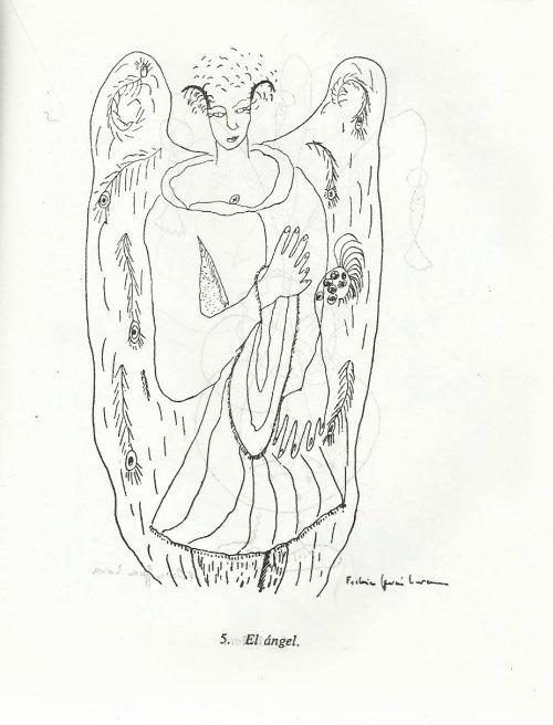 פדריקו גרסיה לורקה, המלאך