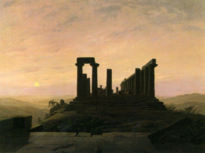 קספר דויד פרידריך, מקדש יונו
