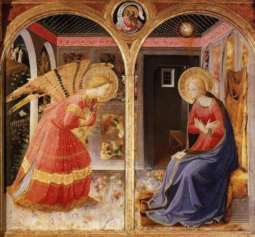 הבשורה, פרה אנג'ליקו, 1435