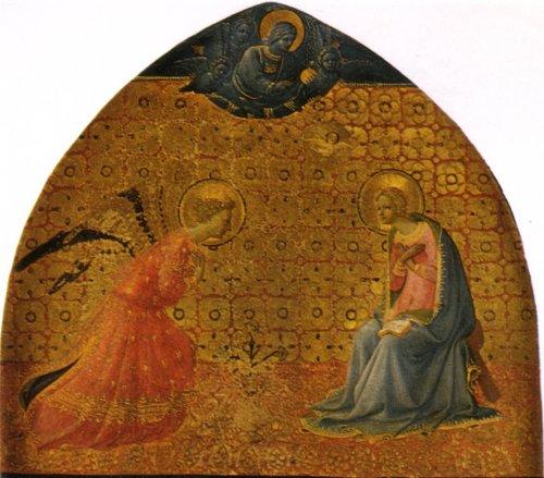 הבשורה למרים, פרה אנג'ליקו 1434