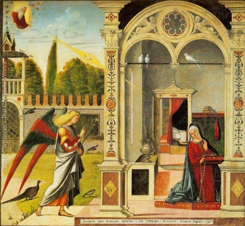 הבשורה למרים, ויטורה קרפצ'ו