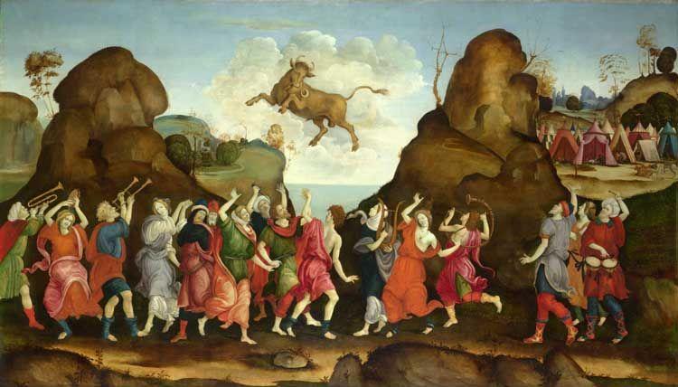 חטא העגל, פיליפינו ליפי, המאה ה15