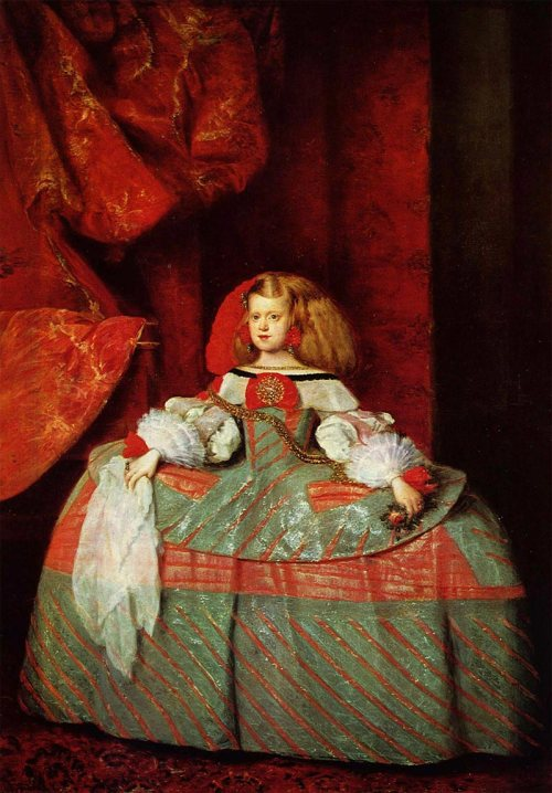 האינפנטה של ולסקז, 1659 (הציור הזה הוא גם חלק מהסיפור)