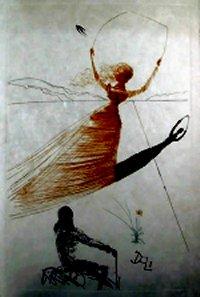 """מתוך """"אליס בארץ הפלאות"""" של סלבדור דאלי"""