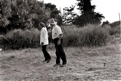 משמאל לימין: הרולד שימל, דניס סילק