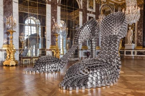 ג'ואנה וסקונסלס, נעליים מסירים מחבתות ומכסים מפלדת אלחלד, ארמון ורסאי 2012