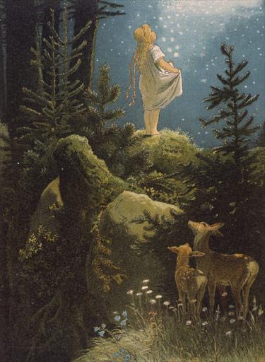 """""""מטבעות הכוכבים"""", אייר, ויקטור פאול מון, 1882"""