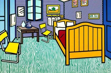 רוי ליכשטנטיין, חדר השינה של ואן גוך בארל