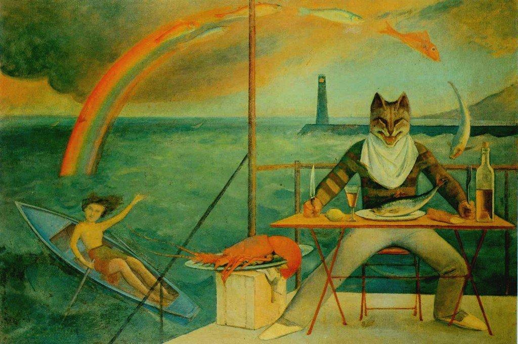בלתוס, החתול הים תיכוני, 1949. לחצו להגדלה