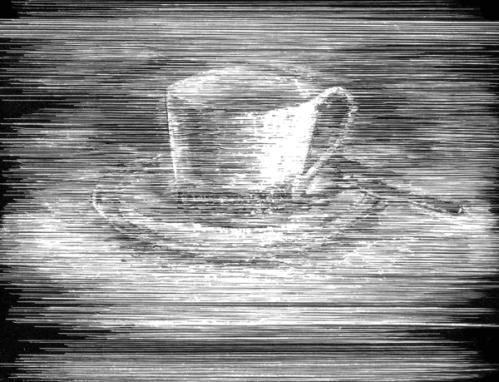 """צייר מאיר אפלפלד, מתוך """"כוס התה שלי"""" מאת דרור בורשטיין"""