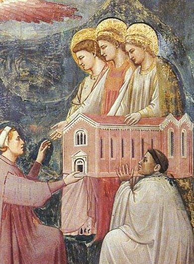 ג'וטו, יום הדין, 1305 (פרט)
