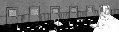"""מתוך """"אבק"""", אנימציה מאת שמרית אלקנתי ורוני פחימה"""