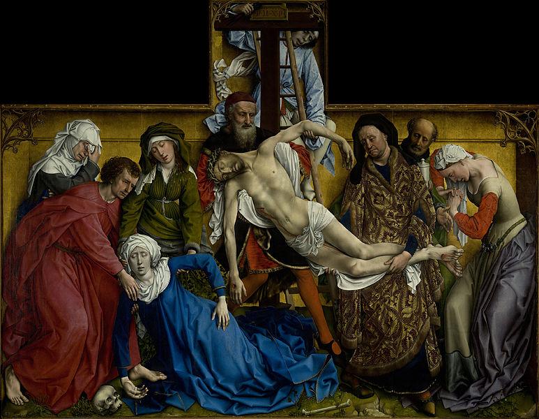 רוחיר ואן דר ויידן, ההורדה מהצלב, סביבות 1435
