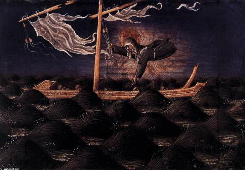 ג'יובאני די פאולו, קלרה הקדושה מצילה ספינה נטרפת
