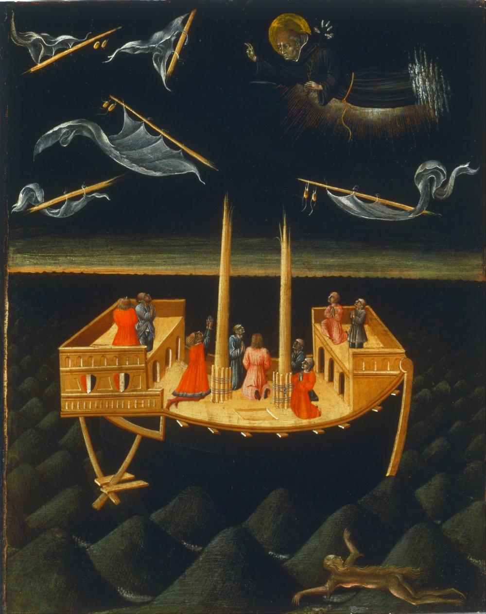 ג'יובאני די פאולו, ניקולאוס הקדוש מציל ספינה נטרפת