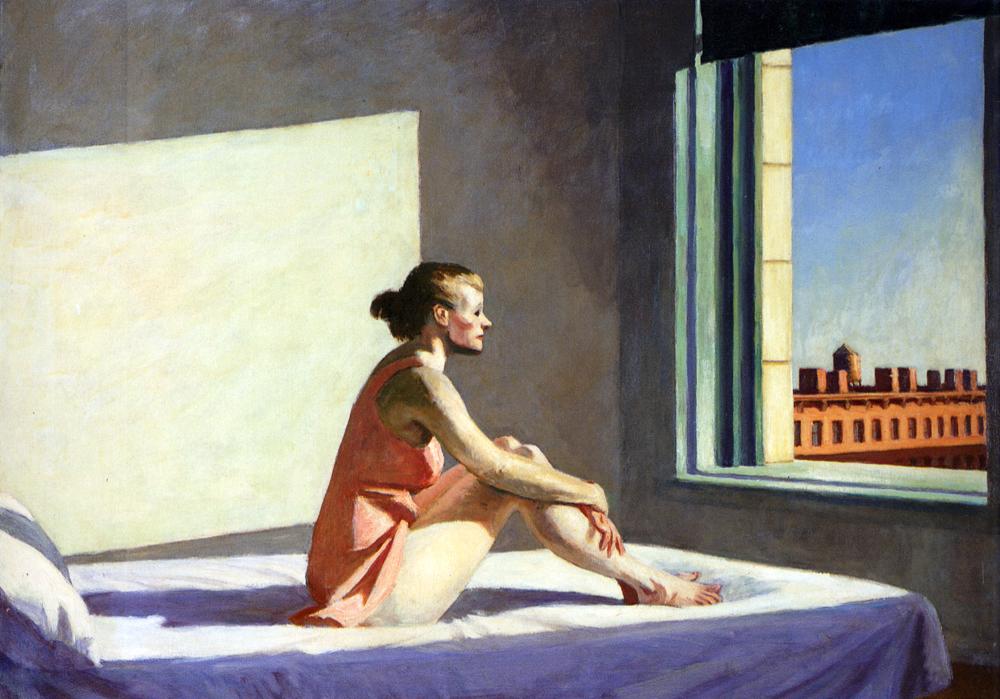 אדוארד הופר, שמש בוקר (1952)