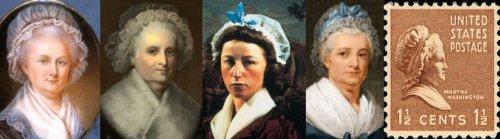 באמצע סינדי שרמן, מימין ומשמאל מרתה וואשינגטון (ארבע מתוך רבות)
