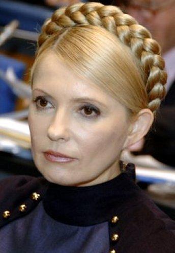 יוליה טימושנקו נשיאת אוקראינה לשעבר.