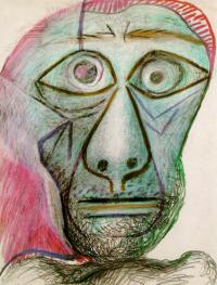 פבלו פיקאסו, פורטרט עצמי, 1972