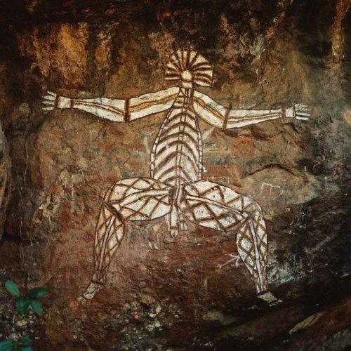 ציור סלע אבוריג'יני