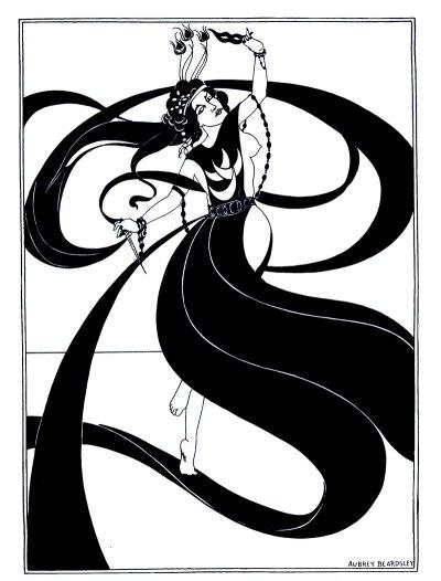 אובריי בירדסלי, ריקוד שבעת הצעיפים, איור ל