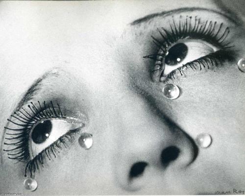 מאן ריי, דמעות זכוכית