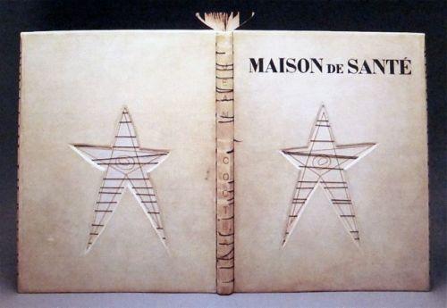 כריכה של מרי ריינולדס ל Maison de santé (בית משוגעים) של ז'אן קוקטו.