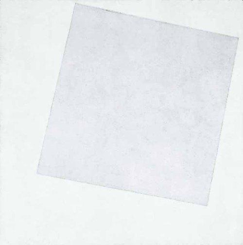 קזימיר מלביץ', לבן על לבן, 1918