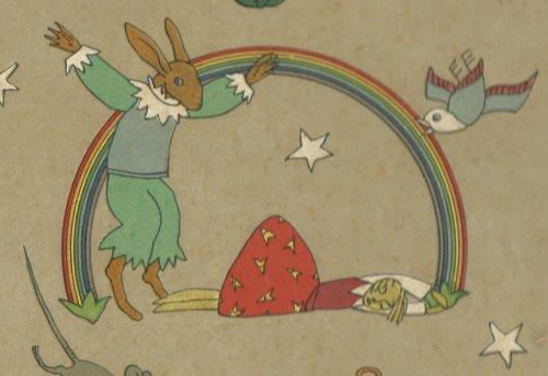 """""""כלת הארנב"""", פרט ותקריב מתוך הפורזץ של """"מעשיות קטנות"""", גרמניה 1922, איירה תום זיידמן פרויד"""