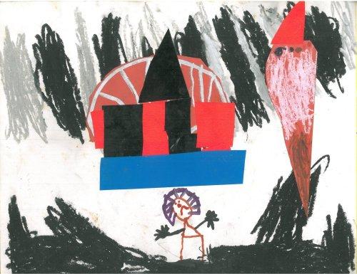 נמר גולן (בן חמש בערך) הליצן הבוכה