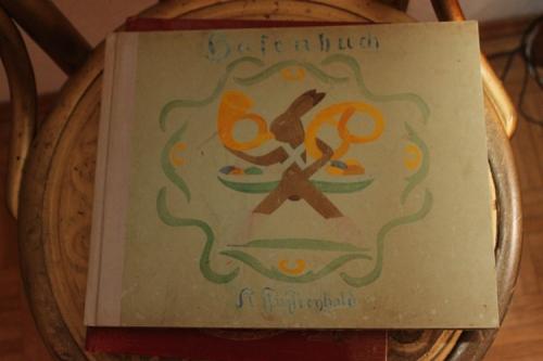 כריכת ספר הארנבים של כריסטיאן מורגנשטרן