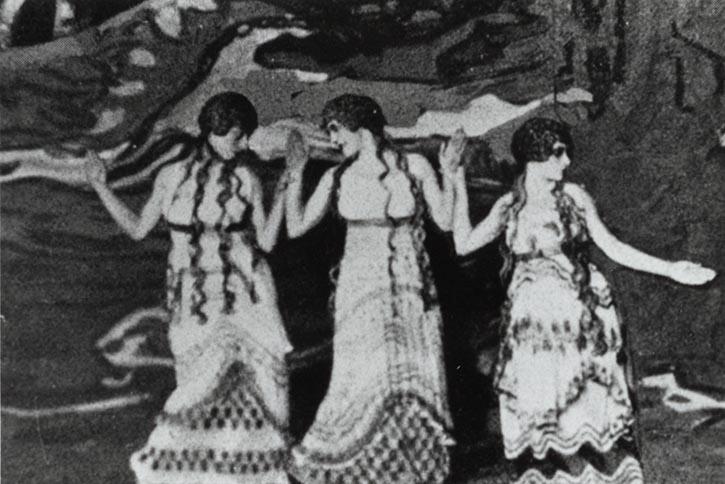 תמונה ריקוד הנמפות מתוך