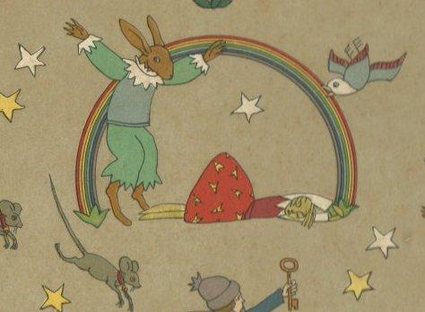 """פרט מתוך פורזץ של תום זיידמן פרויד, שמתייחס ל""""כלת הארנב"""""""