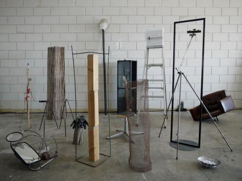 """""""גן מחסן"""" בעבודה, בסטודיו"""