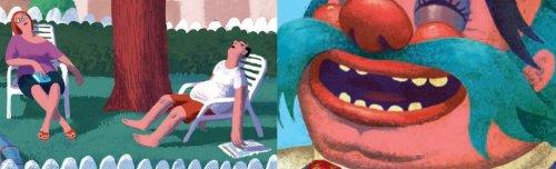 שיניים, אייר דוד פולונסקי, מתוך ברמלי מאת קורניי צ'וקובסקי