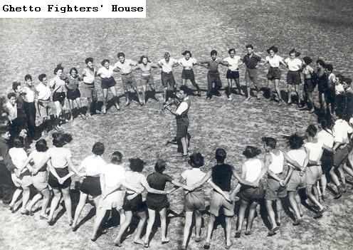 ריקוד הורה במחנה קיץ של השומר הצעיר