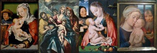 משפחות קדושות עם פירות, לחצו להגדלה