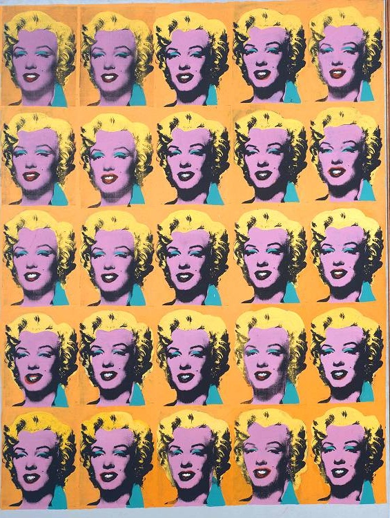 Marilyn Diptych 1962 Andy Warhol 1928-1987 Purchased 1980 http://www.tate.org.uk/art/work/T03093