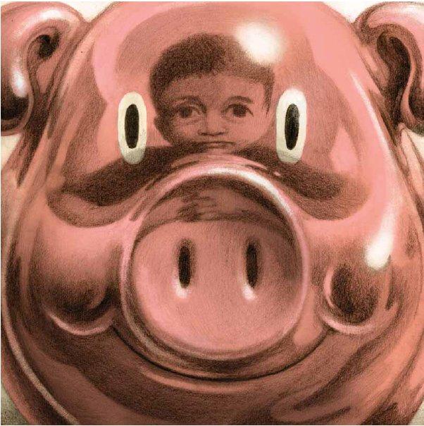 להשתקף בחזיר, אייר דוד פולונסקי, מתוך