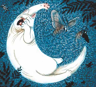 אייר דוד פולונסקי, מתוך לילה בלי ירח