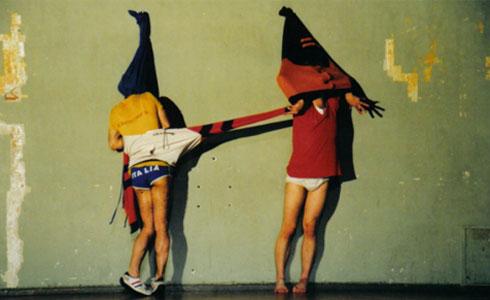 """מתוך """"under"""" של הצמד מתניקולה (ניקולה מאשה ומתן זמיר) בשיתוף עם יסמין גודר. צילום סנדרה רוביאס"""