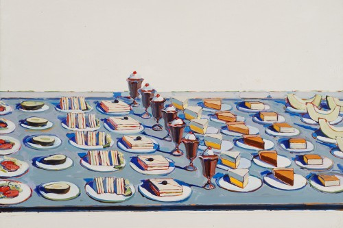 Wayne Thiebaud Salads Sandwiches and Desserts 1962