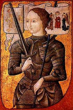 ז'אן ד'ארק, המאה ה-15, הדיוקן היחיד ששרד שצויר בחייה