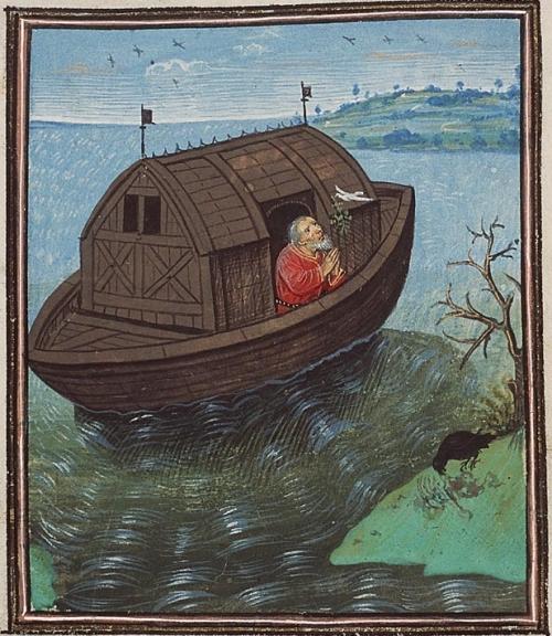 היונה מביאה ענף זית, אגידיוס דה רויה, המאה ה-15