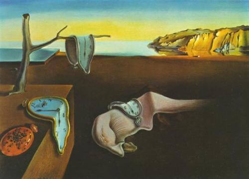 סלוודור דאלי persistence of memory the 1931
