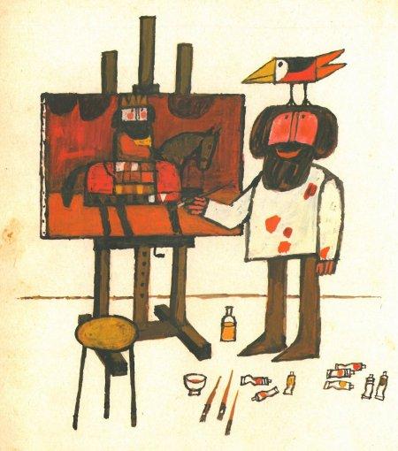 מתוך הצייר והציפור, מקס פלטהיס