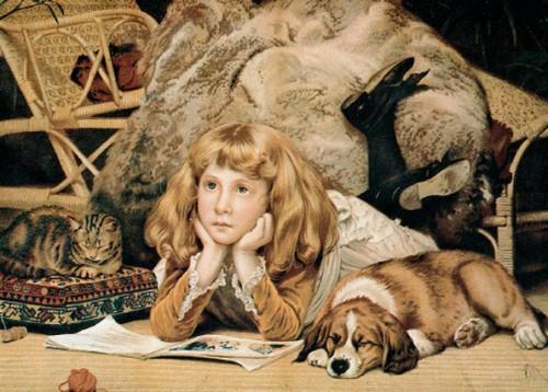 חלום בהקיץ, צייר לא נודע, שנות השבעים של המאה התשע עשרה